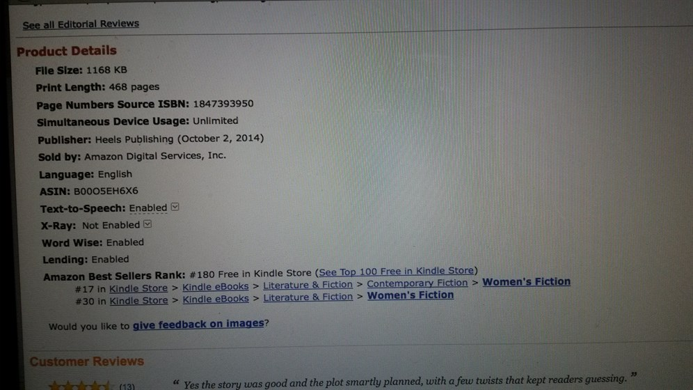 DIVAS #17 In Kindle US Store