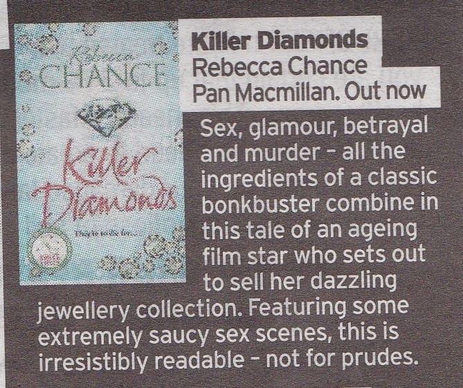 Sunday Mirror - Killer Diamonds